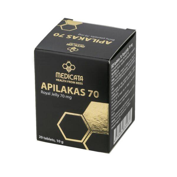 Bičių pienelis, Apilakas 70, Medicata