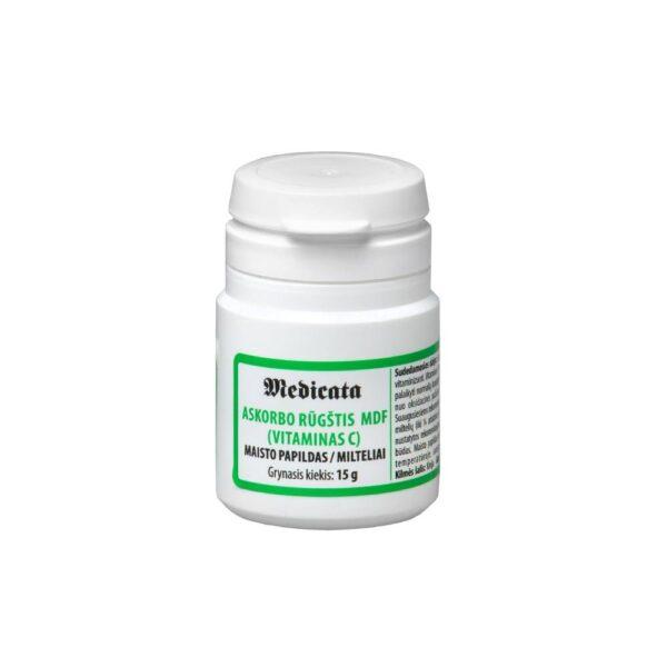 Askorbo rūgštis mdf - Medicata